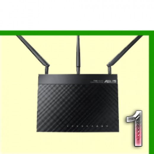 What is the best wireless Router? Asus RT-N66U Dark Knight Double 450Mbps N Router