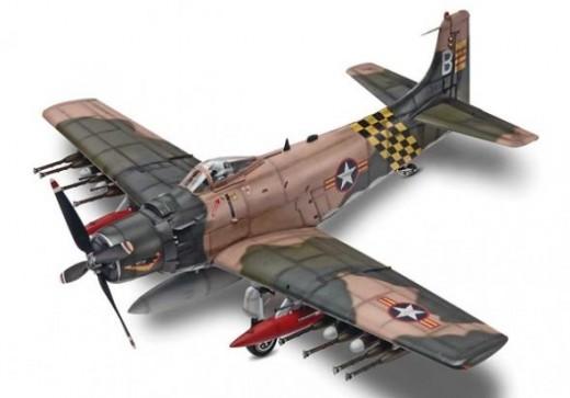 Revell 1/48 AD-6 Skyraider
