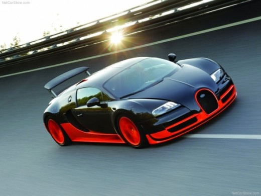 The world's top speed car - Bugatti Veyron Super Sport