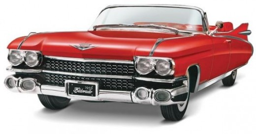 Revell Monogram '59 Cadillac Eldorado Bairritz