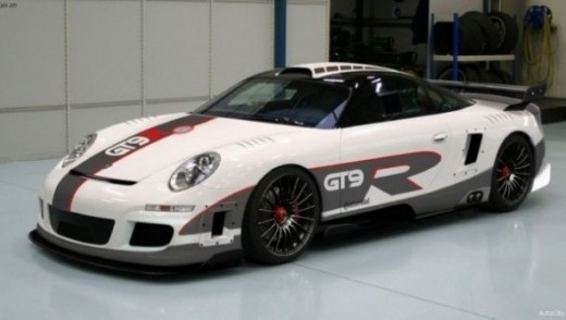 The world's fastest car - Porsche 9FF GT9-R