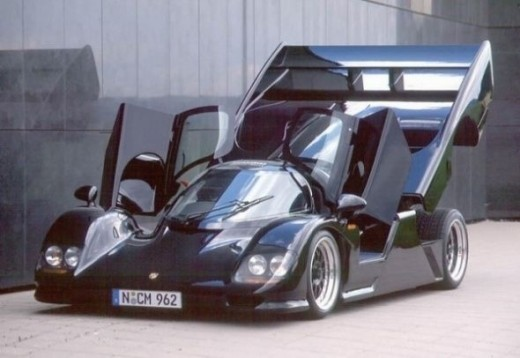 The fastest car Dauer 962 Le Mans