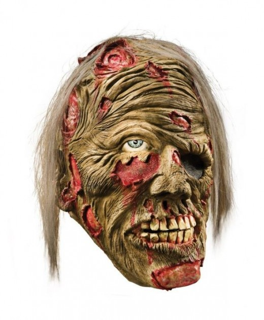 Halloween Mask - Decomposed Zombie Mask