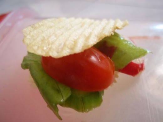 The potato chip salad
