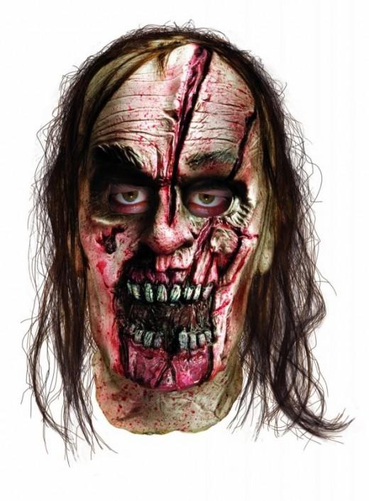 Halloween Mask - Split Head Zombie Mask