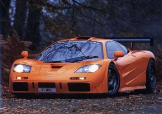 The top speed car - McLaren F1
