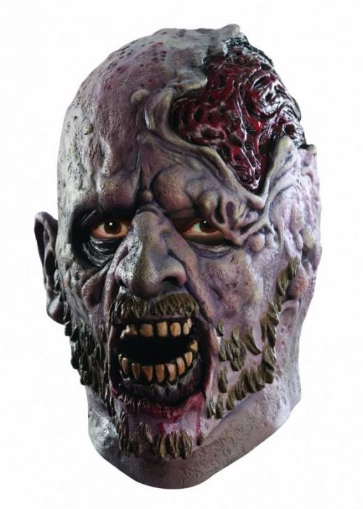 Halloween Mask - Zombie Screaming Corpse Halloween Mask