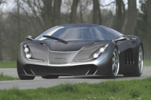 The world's fastest car - Lotec Sirius