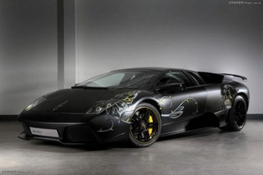 The top speed car - Lamborghini LP710