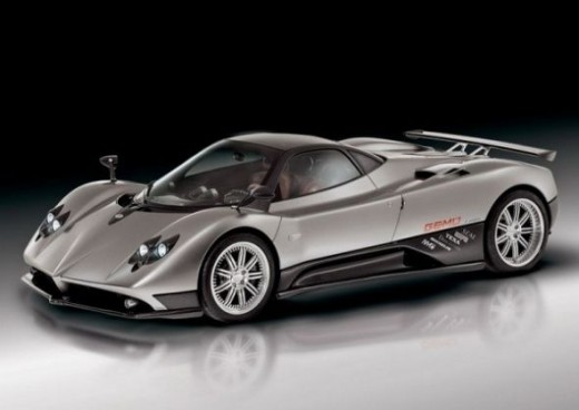 The world's top speed car - Pagani zonda F