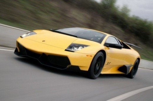 Top speed car - Lamborghini Murcielago LP670-4SV