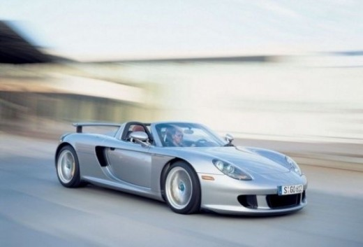 Top speed car - Porsche Carrera Gt