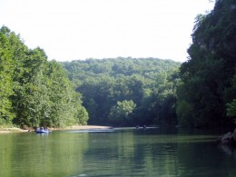 The lazy Meramec River
