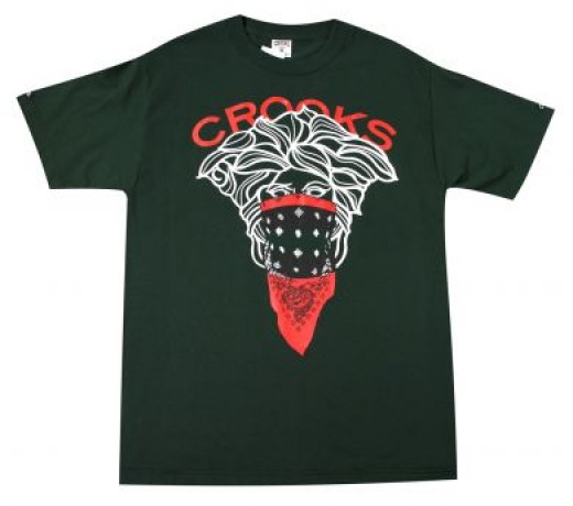 type=The Crooks And Castles Medusa Tee