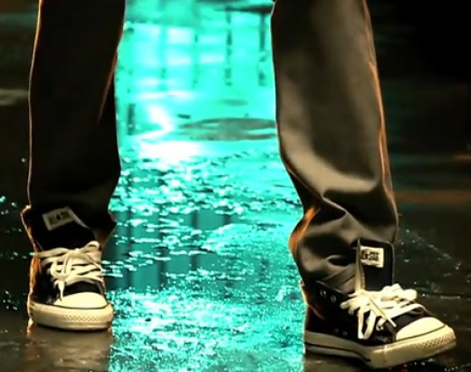 Wiz Khalifa with Chuck Taylors
