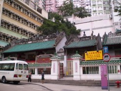 Said to be Hong Kong's oldest: the Man-Mo temple along Victoria's Hollywood Road.