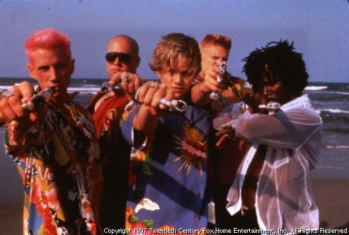 The Montague Boys TM 1996 Twentieth Century Fox Film Corporation.(Jaime Kennedy, Zak Orth,  Leonardo DiCaprio, Dash Mihok ,Harold Perrineau )