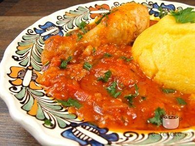 Romanian chichen stew - www.e-retete.ro