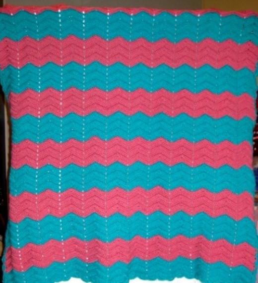Isn't it a lovely piece of crocheting?