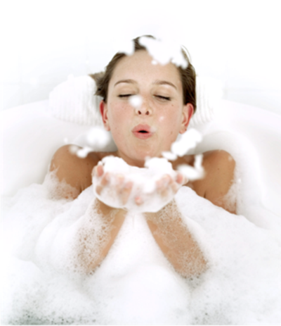 Remember a bath of your own - and first one in?