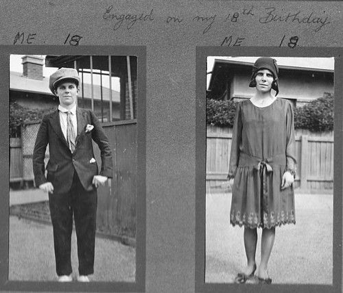 It's a boy? OR a girl? Cross-dressing in the 30's?