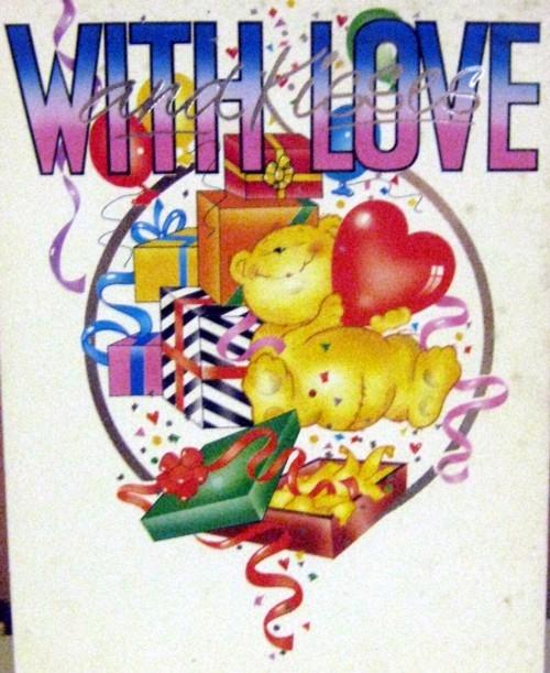 80th Birthday Card from her Spina Bifida kids