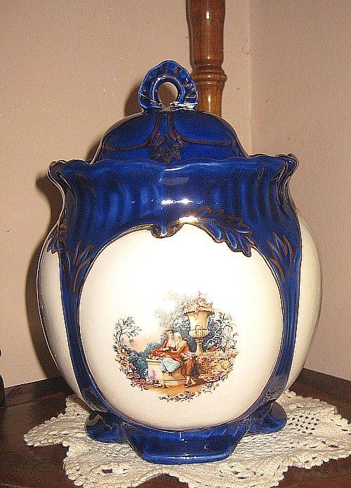 My Ceramic-period 'antique' pot...not!