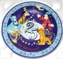 vintage Disney Plate