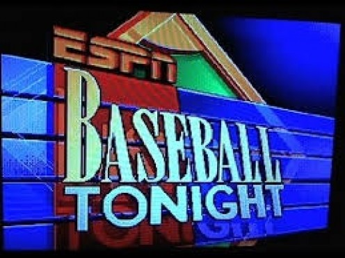 ESPN Baseball Tonight has Chris Berman in the studio which was a nice touch to the game.