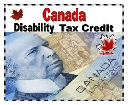 The Canada disability tax credit can reduce a persons taxes if they have a disability.