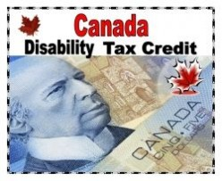 Canada Disability Tax Credit - if you are Disabled get it