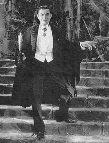 Count Dracula was charming and supposedly handsome but you wouldn't want to get mixed up with this guy