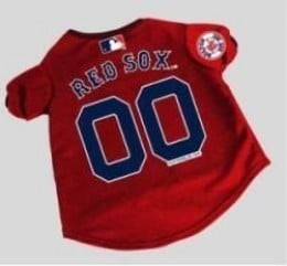 MLB Licensed Dog Sports Apparel