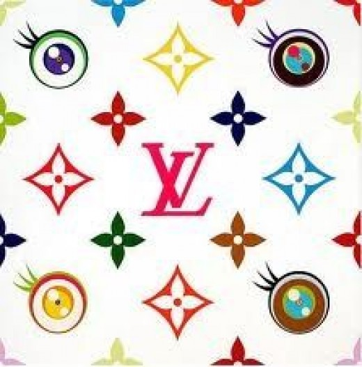 Superflat LV monogram by Takashi Murakami