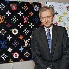 CEO of LVMH group Bernard Arnault