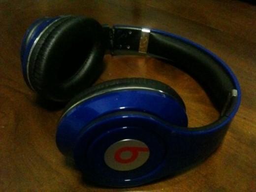 Dr Dre Monster Headphones Blue