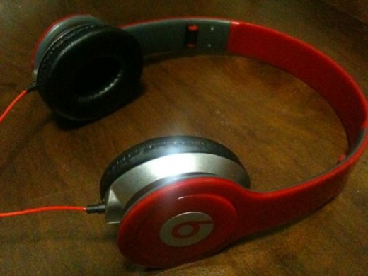 Dr Dre Monster Headphones Red