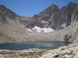 Mount McAdie and Consultation Lake from the Mount Whitney trail.