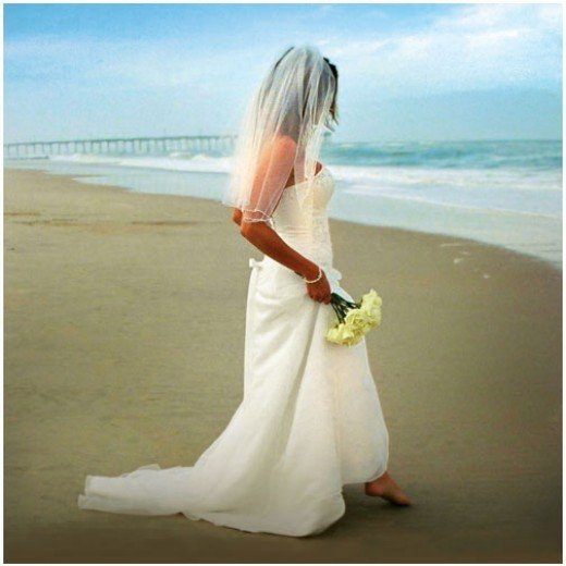 Lace Beach Wedding Dress Let Maria Phillips know you read this Hub