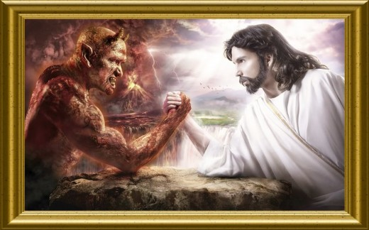 Pictures Of God And The Devil Fighting | www.imgkid.com ...