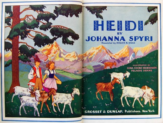 Heidi - Johanna Spyri - Children's Classics - Children's Stories