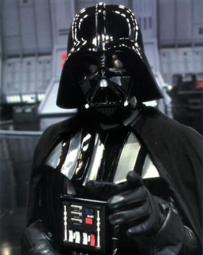 "Darth Vader - No. 3 in AFI's greatest villain list.  No. 3?!  ""Star Wars"" fans need to step it up, infiltrate AFI and make DV no. 1."