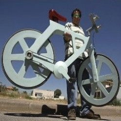 Save the world with a cardboard bike!