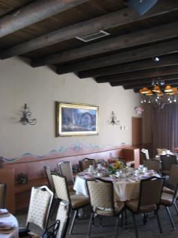 A View of the Tea Room at Hacienda del Sol  in Tucson