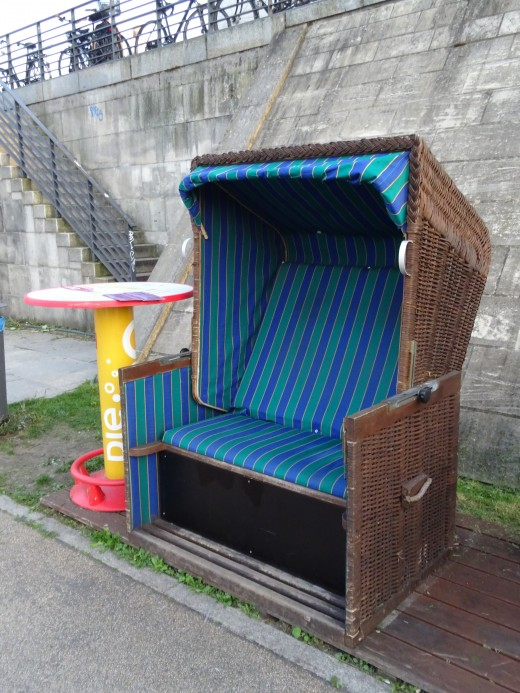 The ultimate deck chair