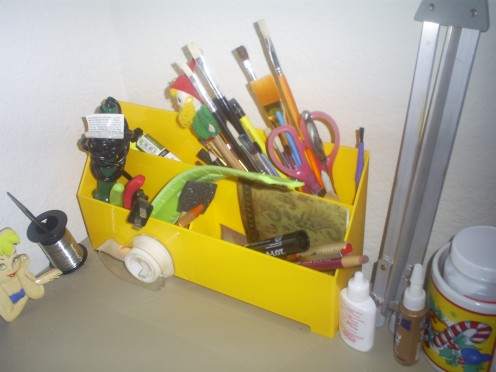 Every crafter needs more than one organizer.