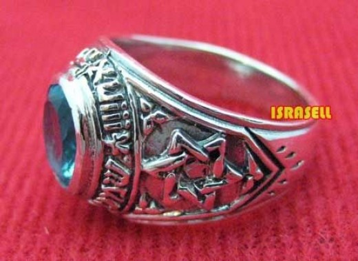 """Hear O Israel"" Sterling Silver Ring"