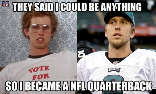 Philadelphia Eagles QB Nick Foles????