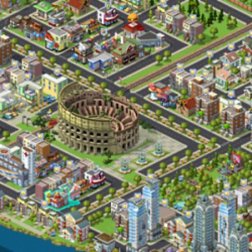 Cityville Facebook Game