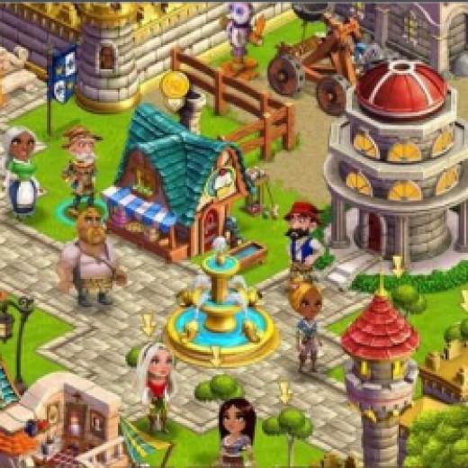 Castleville Facebook Game
